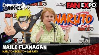 Maile Flanagan (Naruto, Boruto, Lab Rats) Fan Expo Canada 2018 2nd Panel