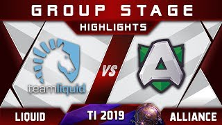 Liquid vs Alliance TI9 The International 2019 Highlights Dota 2