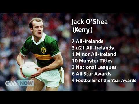 GAANOW | GAA Museum Hall Of Fame - Jack O'Shea (Kerry)