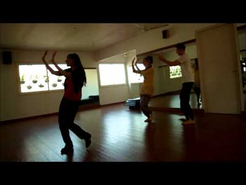 ooh la la dirty picture choreography at Dancend by Ruchi Pushkarna...