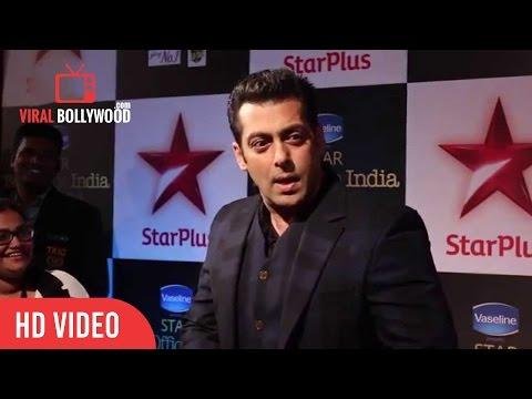 Salman Khan In Funny Mood At Star Boxoffice India Awards | Star Plus video