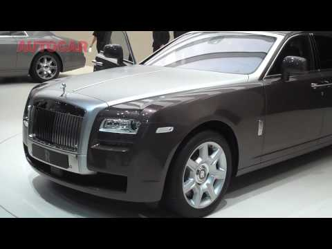Rolls-Royce Ghost by autocar.co.uk