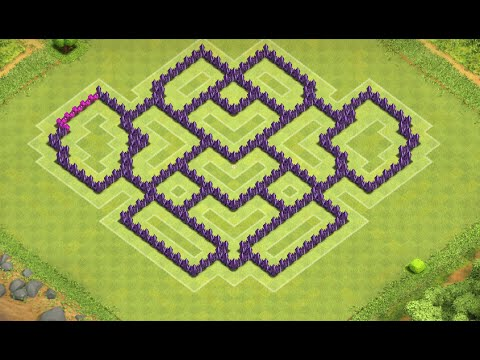 Clash of Clans - Best TH8 Farming Base Layout