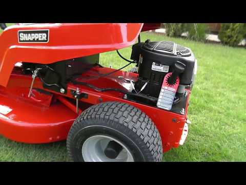 2013 Snapper RE 100 Riding Mower Review