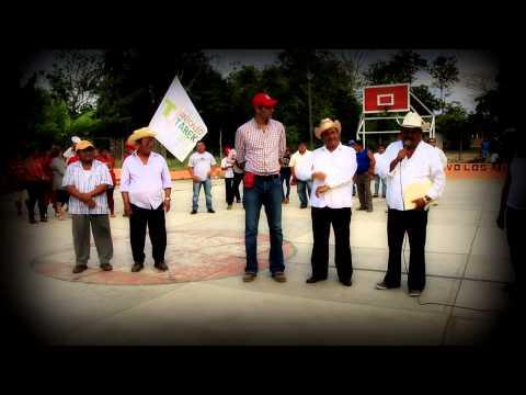 VISITA TAREK ABDALA A LOS CHINANTECOS DEL MUNICIPIO DE TRES VALLES