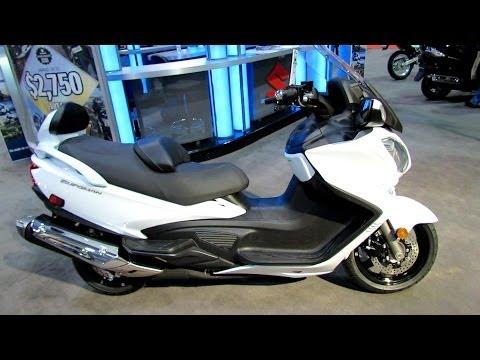 2014 Suzuki Burgman 650 Executive Walkaround - 2014 Toronto Motorcyle Show