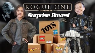 ROGUE ONE TOY SURPRISE!!! NEW Star WarsO, Wheels, Action Figures and More!
