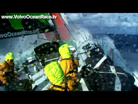 Big winds and heavy seas - Volvo Ocean Race 2008-09