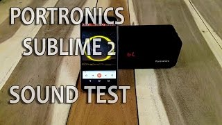 Portronics Sublime 2 Sound Test | Best Bluetooth speaker under 2000 | android Buddy |