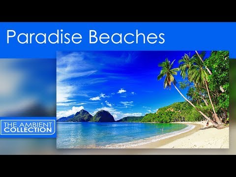 PARADISE BEACHES DVD  - RELAX ON WORLD BEST BEACHES WITH THE SOUNDS OF THE SEA