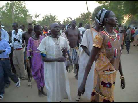 Dinka Bor Dancing: Freedom Square, Bortown
