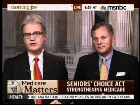 Senators Richard Burr and Tom Coburn Discuss the Seniors' Choice Act on  Morning Joe