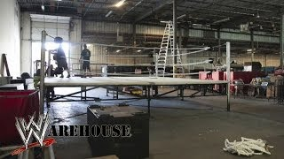 WrestleMania Rings -- WWE Warehouse -- Ep. #1