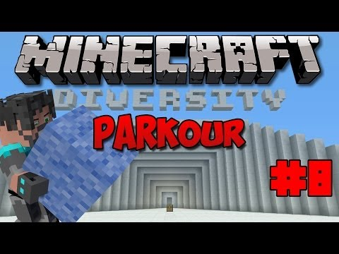 Minecraft : Diversity W  Thinknoodles - Ep. 8 - R A G E (parkour) video