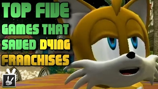 Top Five Games That Saved Dying Franchises