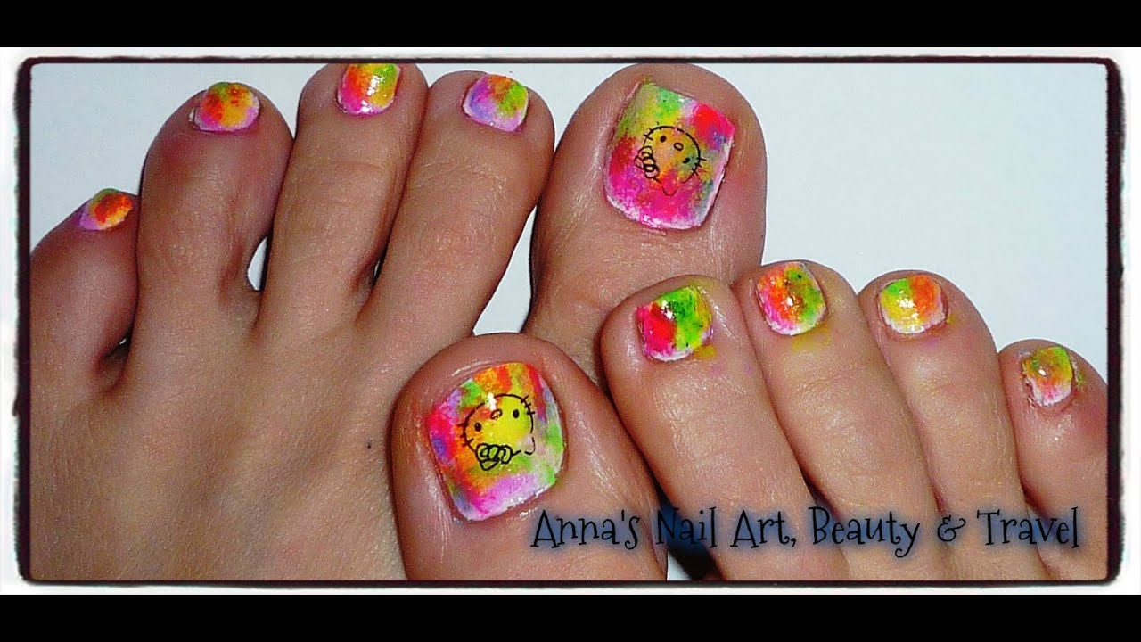 Nail art for toes tutorial oceasia beauty and nails toe nail art hello kitty nails toe nail art designs diy tutorials in pink polish view images prinsesfo Gallery