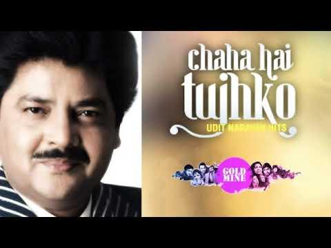 Chaaha Hai Tujhko 🔸Udit Narayan -  Anuradha Paudwal 🔸Mann / 1999