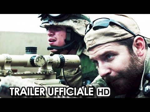 American Sniper Trailer Ufficiale V.O. (2015) - Clint Eastwood Movie HD