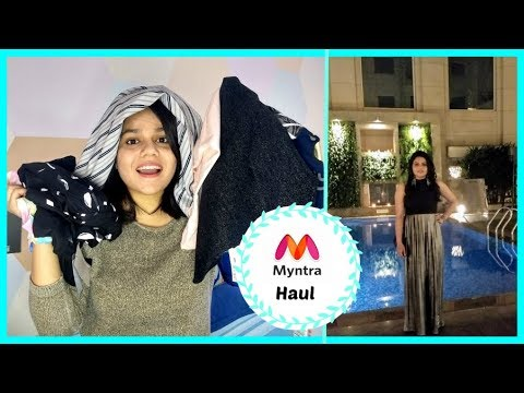 Myntra try-on haul | Forever21 | Mango | Only | Faballey |