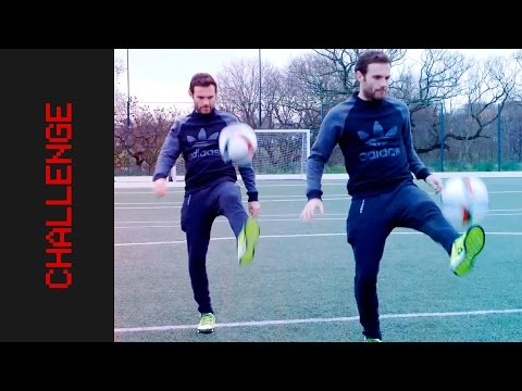 15 WAYS TO FLICK UP THE BALL | Juan Mata