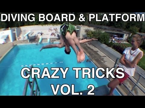 Diving Board & Platform Crazy Tricks vol 2 [ HD 60 fps ]