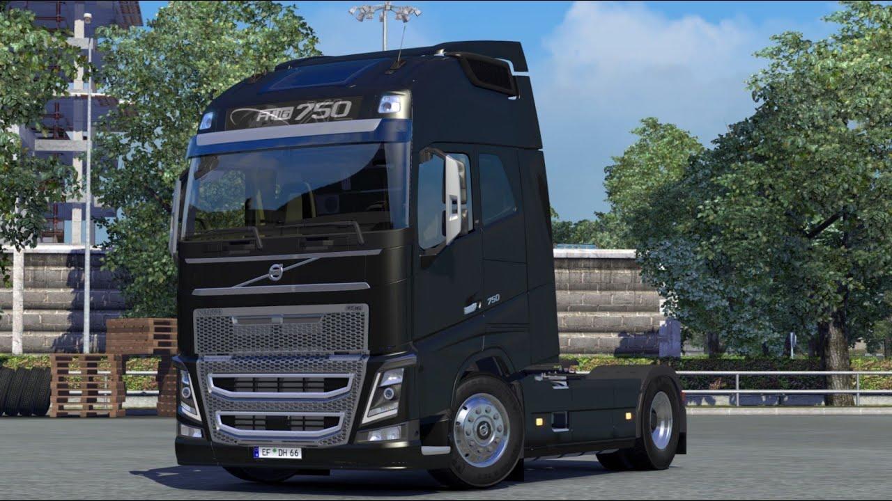 Euro Truck Simulator 2 Volvo Fh 16 750 Youtube