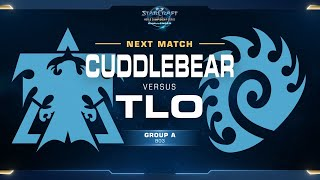 TLO vs Cuddlebear ZvT - Group A Winners - WCS Challenger NA Season 2