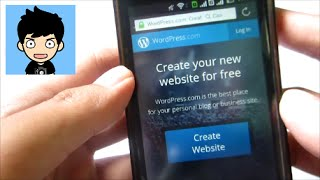 How To Make A Blog With Android Smartphone (No Computer) (Wordpress) (Tutorial)