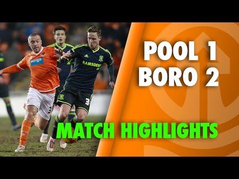 Blackpool 1-2 Boro