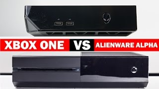 Alienware Alpha Vs Xbox One Graphics Comparison