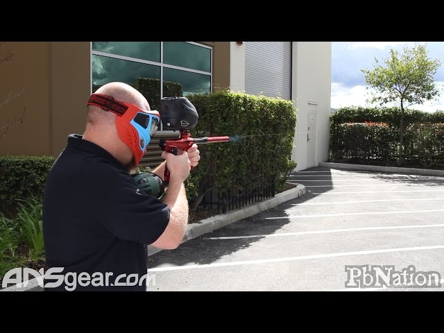 SP Shocker RSX Paintball Gun - Shooting Video