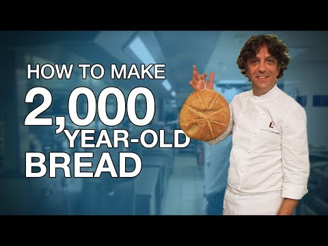Making 2,000-year-old bread