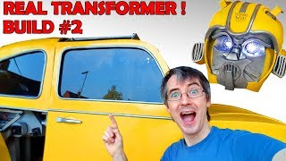 Building Bumblebee the REAL TRANSFORMER #2 | James Bruton