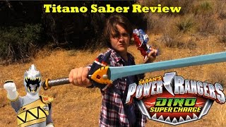 Power Rangers Dino Super Charge Titano Saber Review