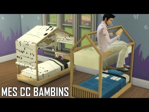MES CONTENUS PERSONNALISÉS BAMBIN ! Sims 4