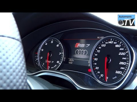 2014 Audi RS7 V8 Bi-Turbo (560hp) - In Detail (1080p FULL HD)