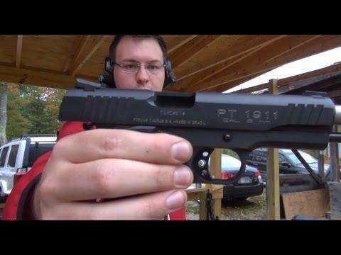 Taurus 9mm 1911 First Impression
