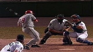 Big Unit strikes out a nervous John Kruk