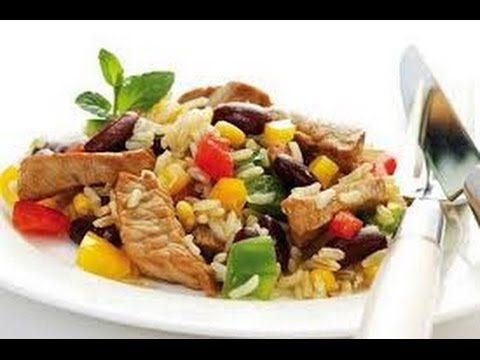 Рис с овощами... и колбасками