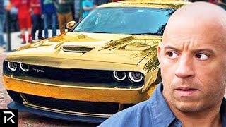 How Vin Diesel Spent A Quarter Billion Dollars!