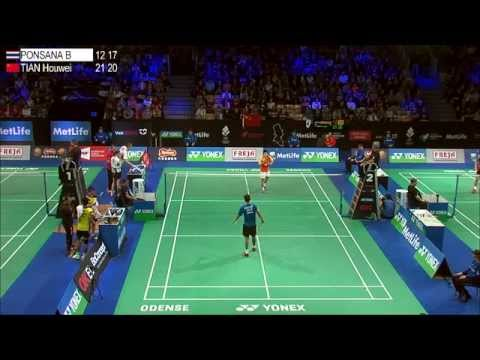 YONEX DENMARK OPEN 2014 - Court 2 Quater Finals