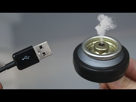 Как сделать эфирный USB ароматизатор/How to make a DIY USB essential oil aromatizer
