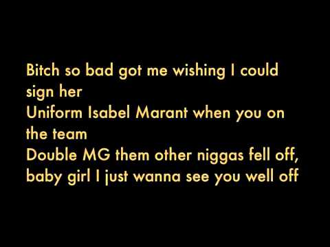Rick Ross - Diced Pineapples  Ft. Drake & Wale (Explicit) Lyrics