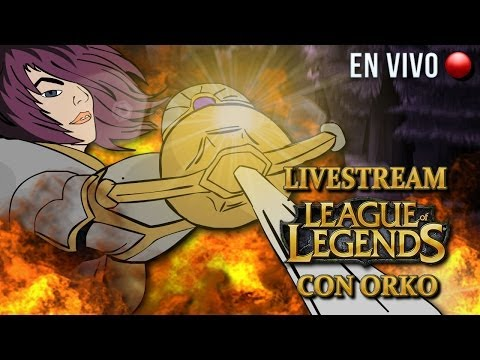 DE REGRESO CON LOS STREAMS! RANKEANDO EN LOL! EN VIVO!