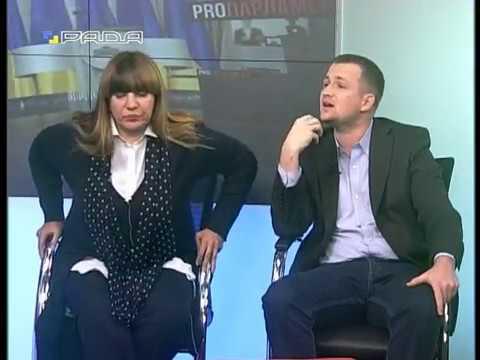 "Бійка Барни та Левченка. Телеканал ""Рада"""