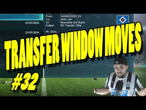 TRANSFER WINDOW MOVES BABY!!! FIFA 14 Career Mode #32