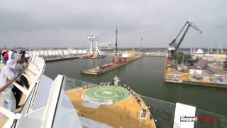 Keppel Verolme arrival OASIS OF THE SEAS