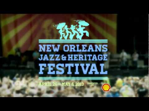 Official Jazz Fest 2013 Talent Announcement Video