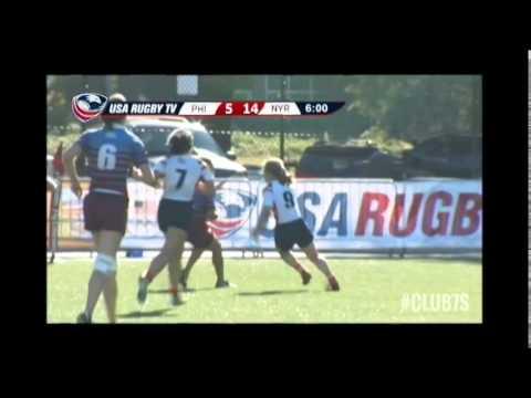 2014 Club 7s - Philadelphia Rugby vs New York Rugby