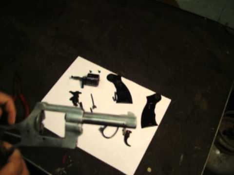 Rohm RG24 .22 Revolver Disassembly/Assembly Video